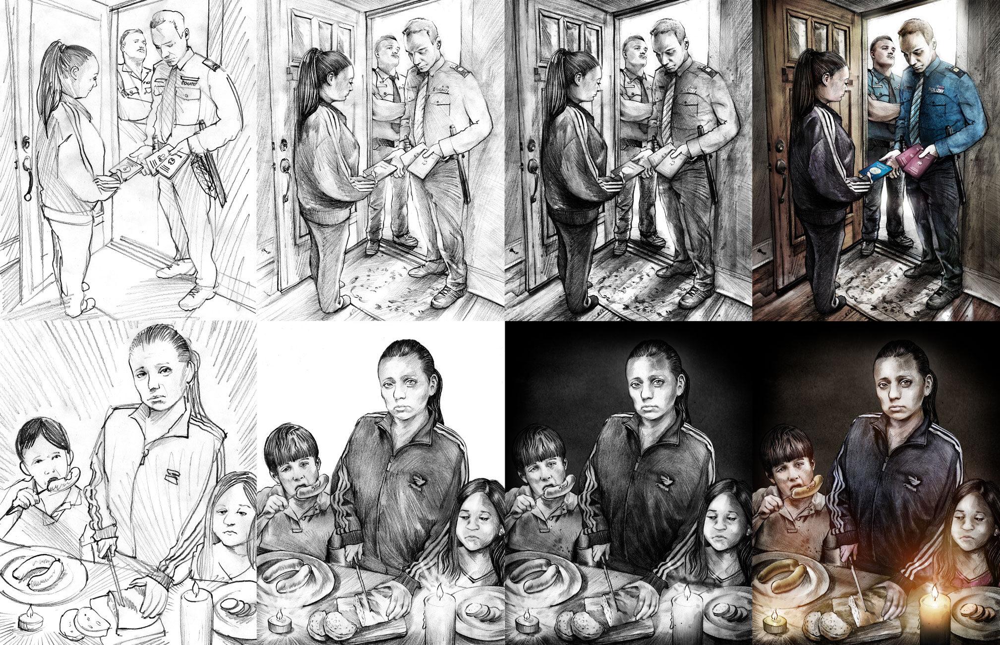 Making of - Kornel Illustration | Kornel Stadler portfolio