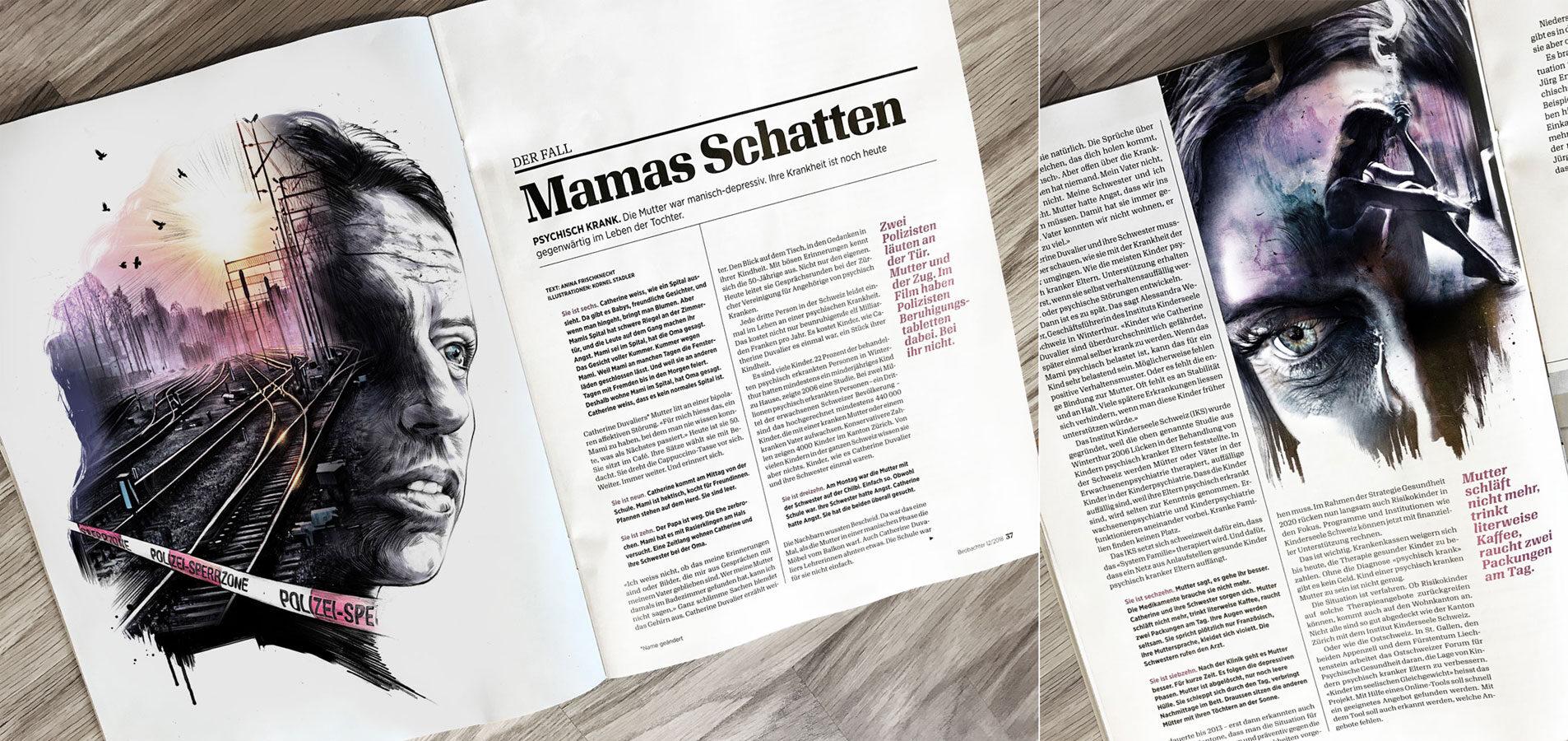 Beobachter6 - Kornel Illustration | Kornel Stadler portfolio