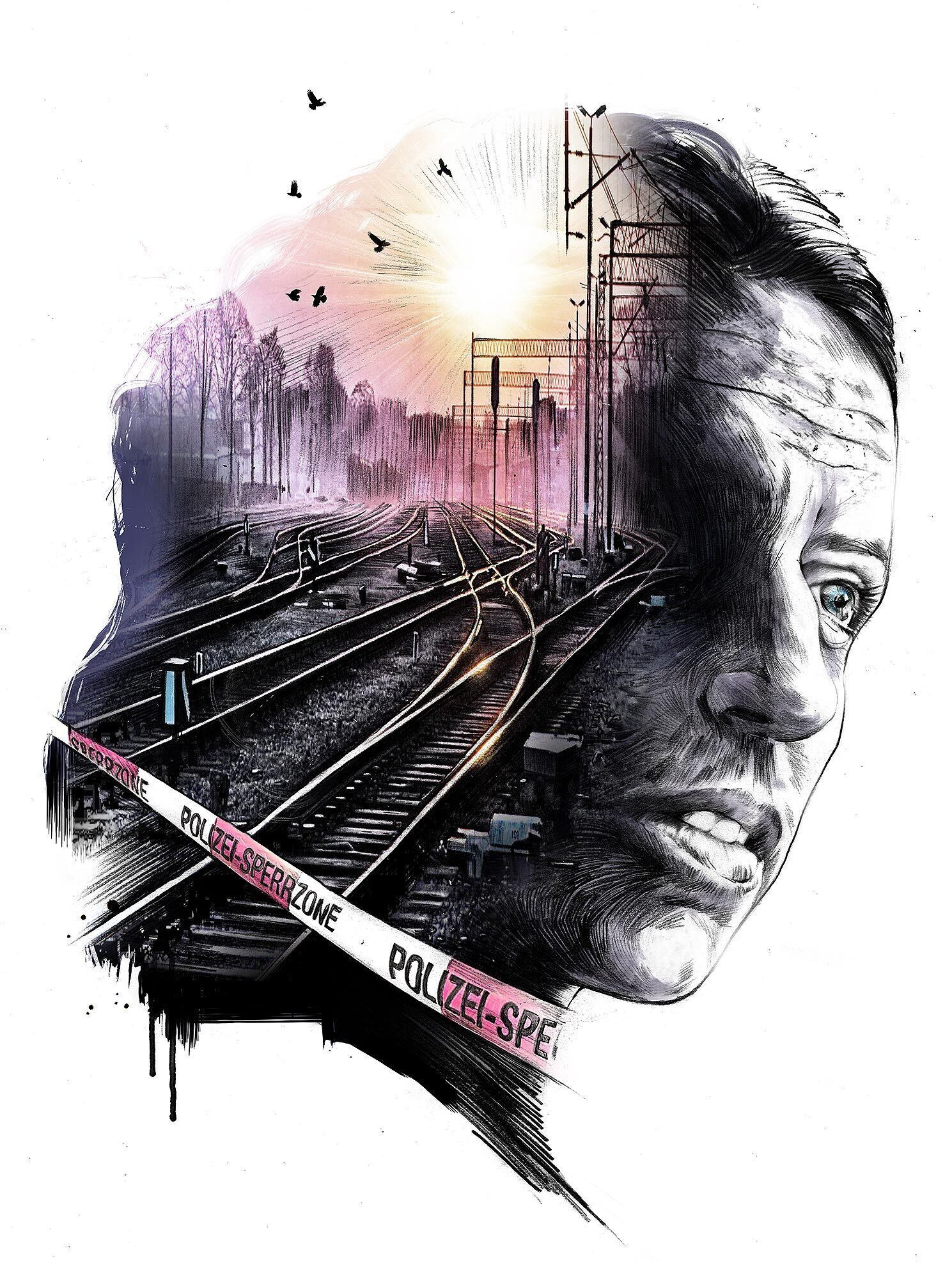 Editorial illustration suicide - Kornel Illustration | Kornel Stadler portfolio