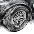Client Arbeit Shelby Cobra Kornel Illustration | Kornel Stadler