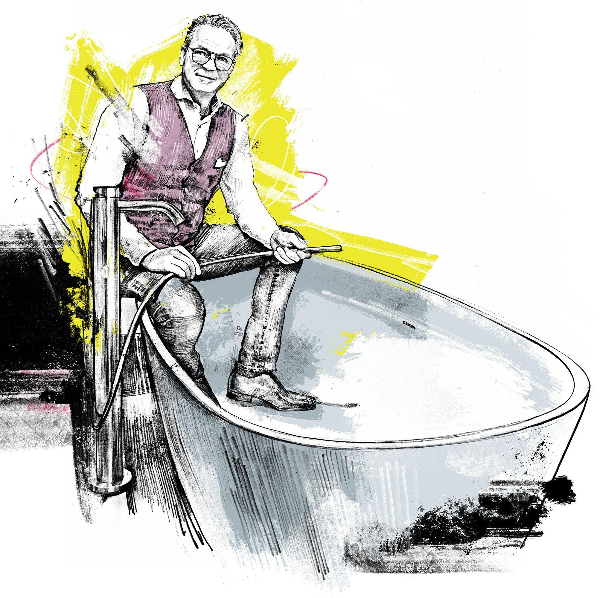 Marc Beeli - Kornel Illustration | Kornel Stadler portfolio