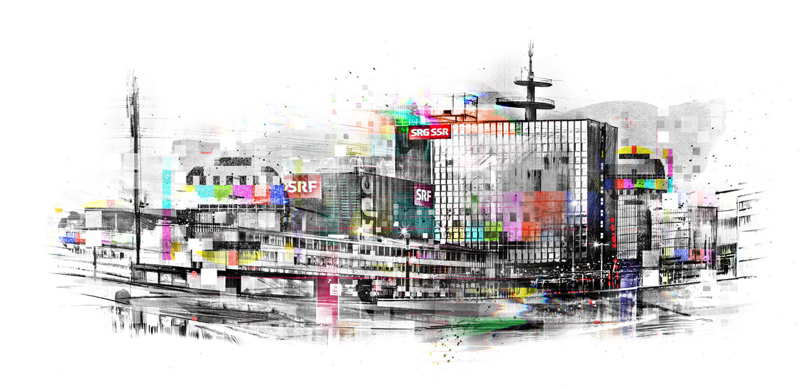 No Billag - Kornel Illustration | Kornel Stadler portfolio
