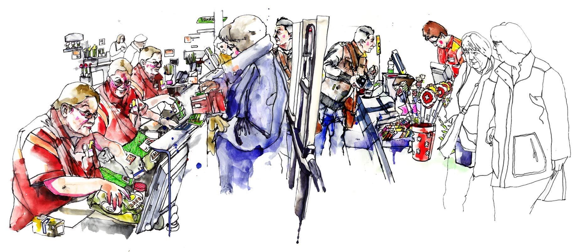 Migros - Kornel Illustration | Kornel Stadler portfolio