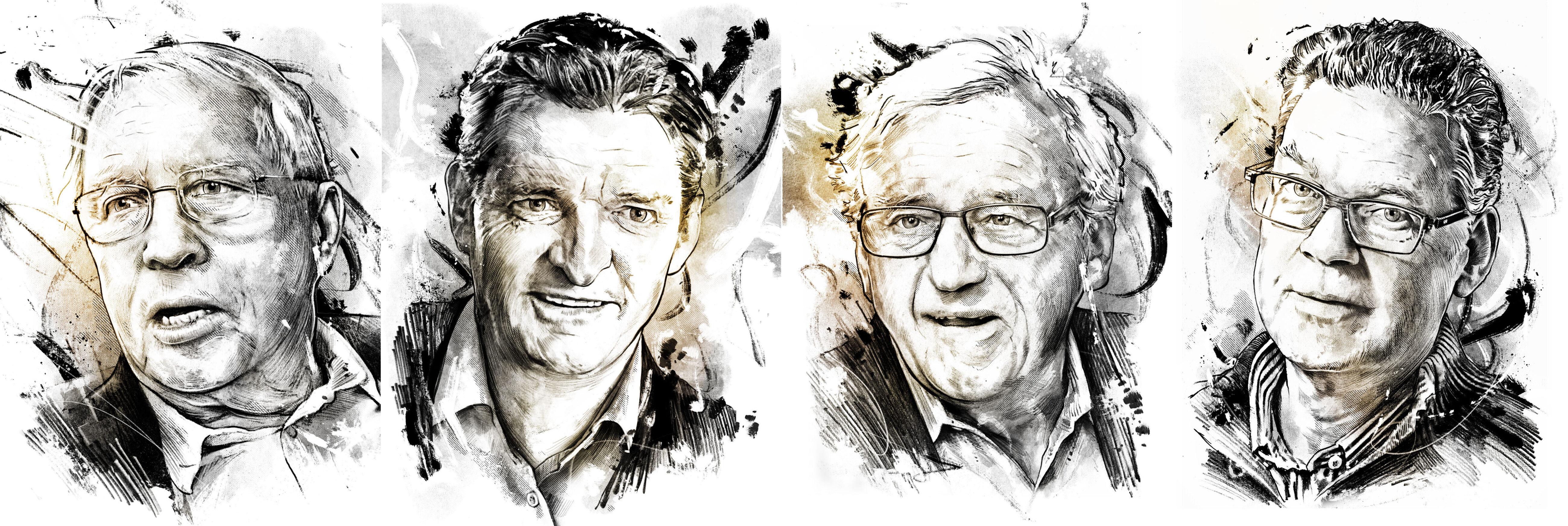 Portraits portrait illustration editorial portraitdrawing - Kornel Illustration | Kornel Stadler portfolio