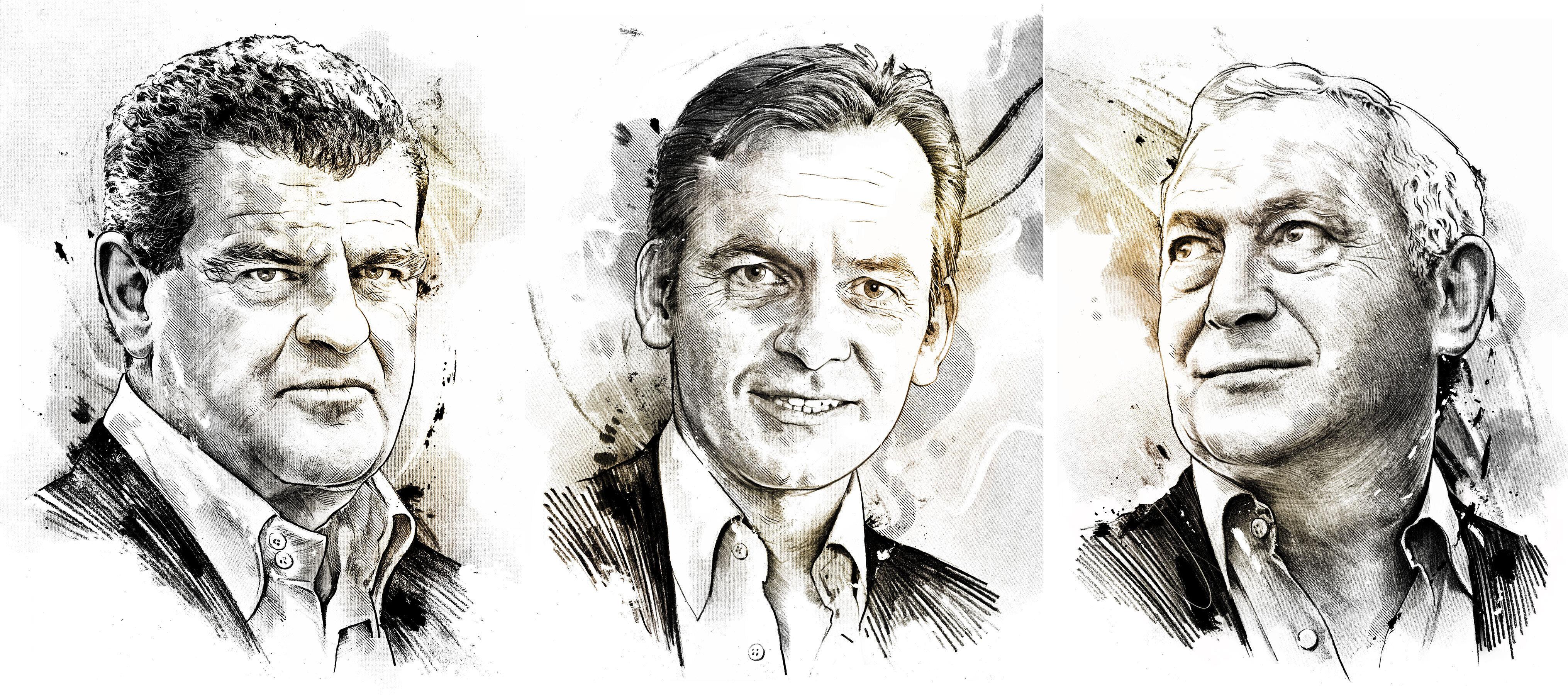 Portraits portrait illustration editorial portraitdrawing 1 - Kornel Illustration | Kornel Stadler portfolio
