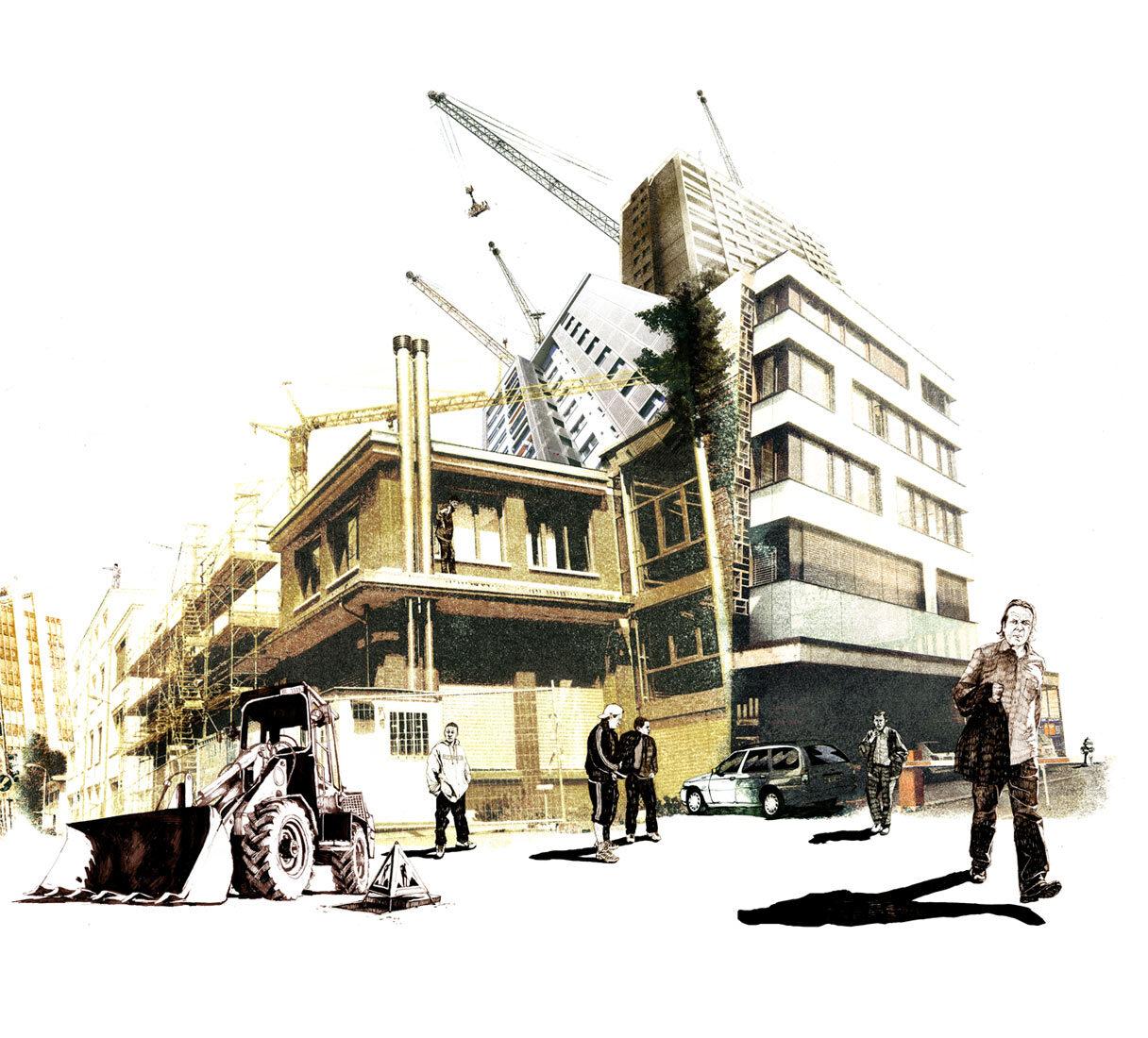Mise en scene2 - Kornel Illustration | Kornel Stadler portfolio