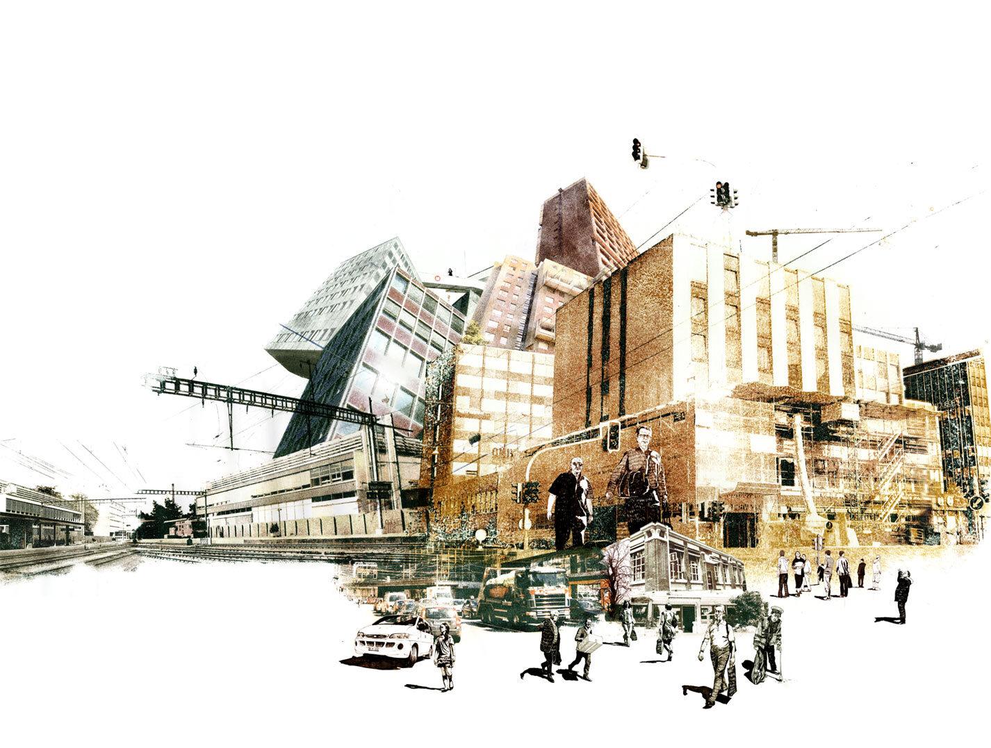 Mise en scene 3 - Kornel Illustration   Kornel Stadler portfolio