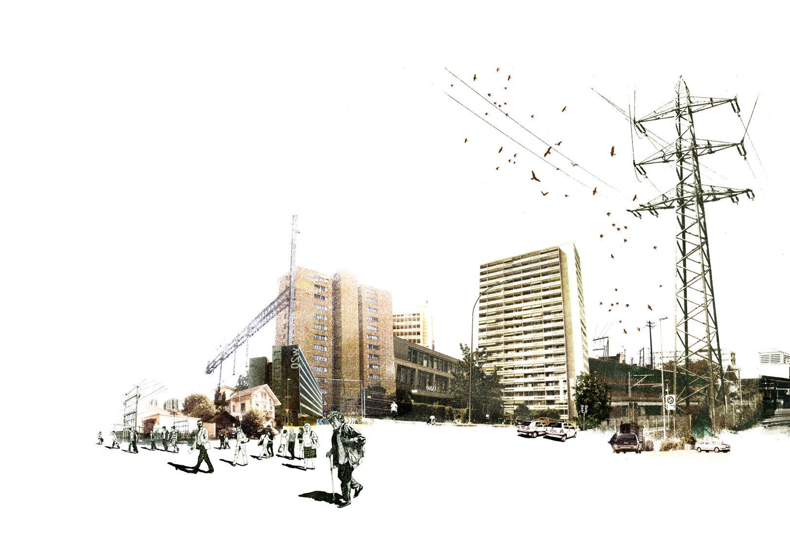 Mise en scene 4 - Kornel Illustration | Kornel Stadler portfolio