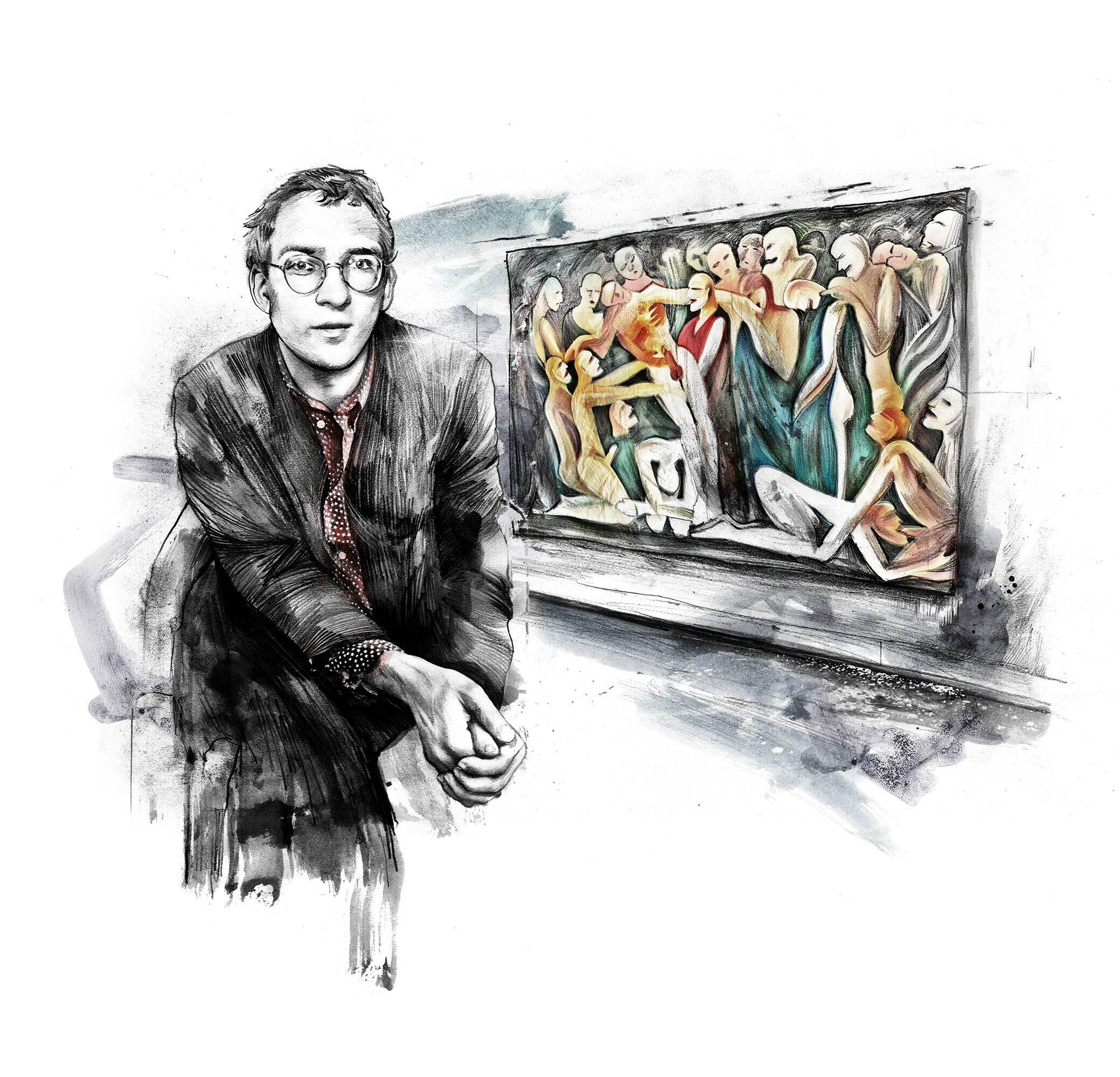 Illu WOZ Felix Mueller - Kornel Illustration | Kornel Stadler portfolio