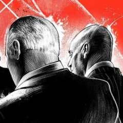 Work Editorial illustration magazine board members aktionaere ink drawing crime scene kidnapped geknebelt Kornel Illustration | Kornel Stadler