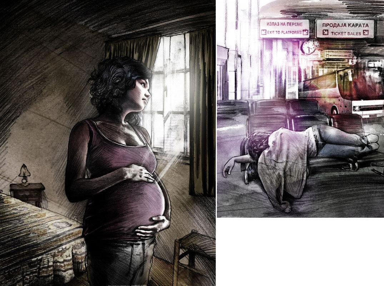 Violeta1 - Kornel Illustration | Kornel Stadler portfolio