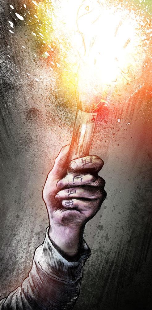 Pyro - Kornel Illustration | Kornel Stadler portfolio