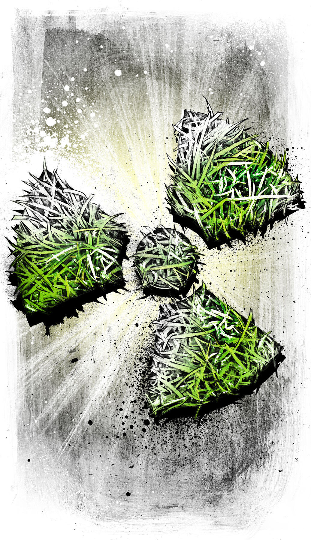 Nuclear Green - Kornel Illustration | Kornel Stadler portfolio