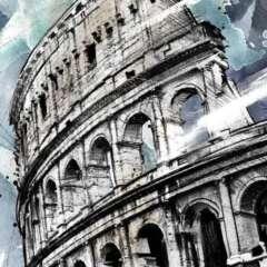 Work EU illustration kolosseum rom europa Kornel Illustration | Kornel Stadler