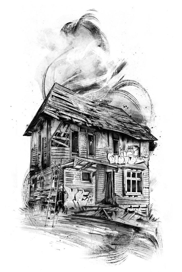 Haus1 - Kornel Illustration | Kornel Stadler portfolio