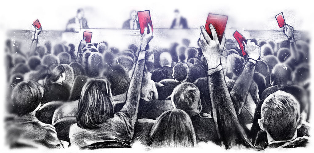 Generalversammlung - Kornel Illustration | Kornel Stadler portfolio