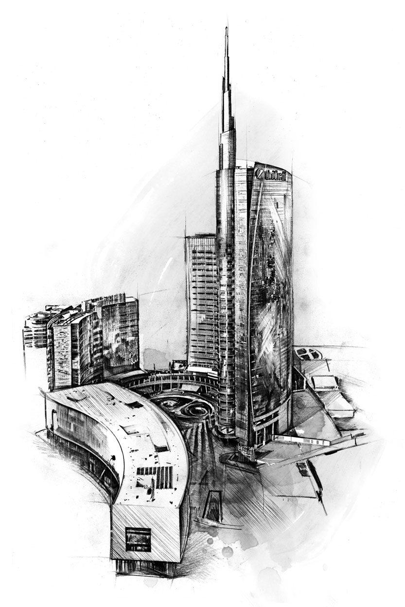 Porta Nuova 2 - Kornel Illustration | Kornel Stadler portfolio