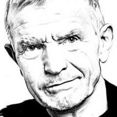 Work Portrait illustration black white editorial heads Kornel Illustration | Kornel Stadler