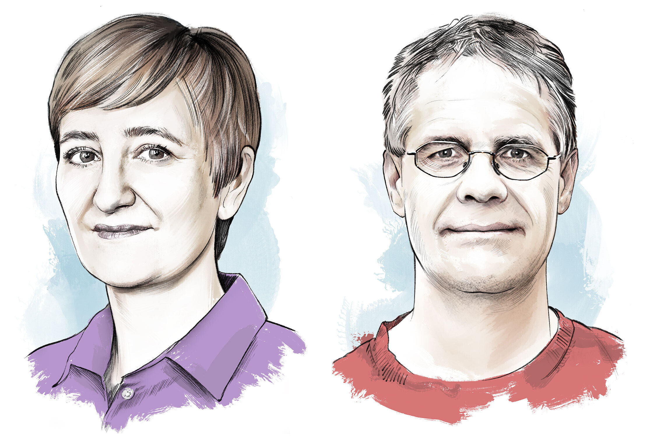 ETH Portrait - Kornel Illustration | Kornel Stadler portfolio