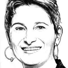 Work Editorial portrait illustration Kornel Illustration | Kornel Stadler
