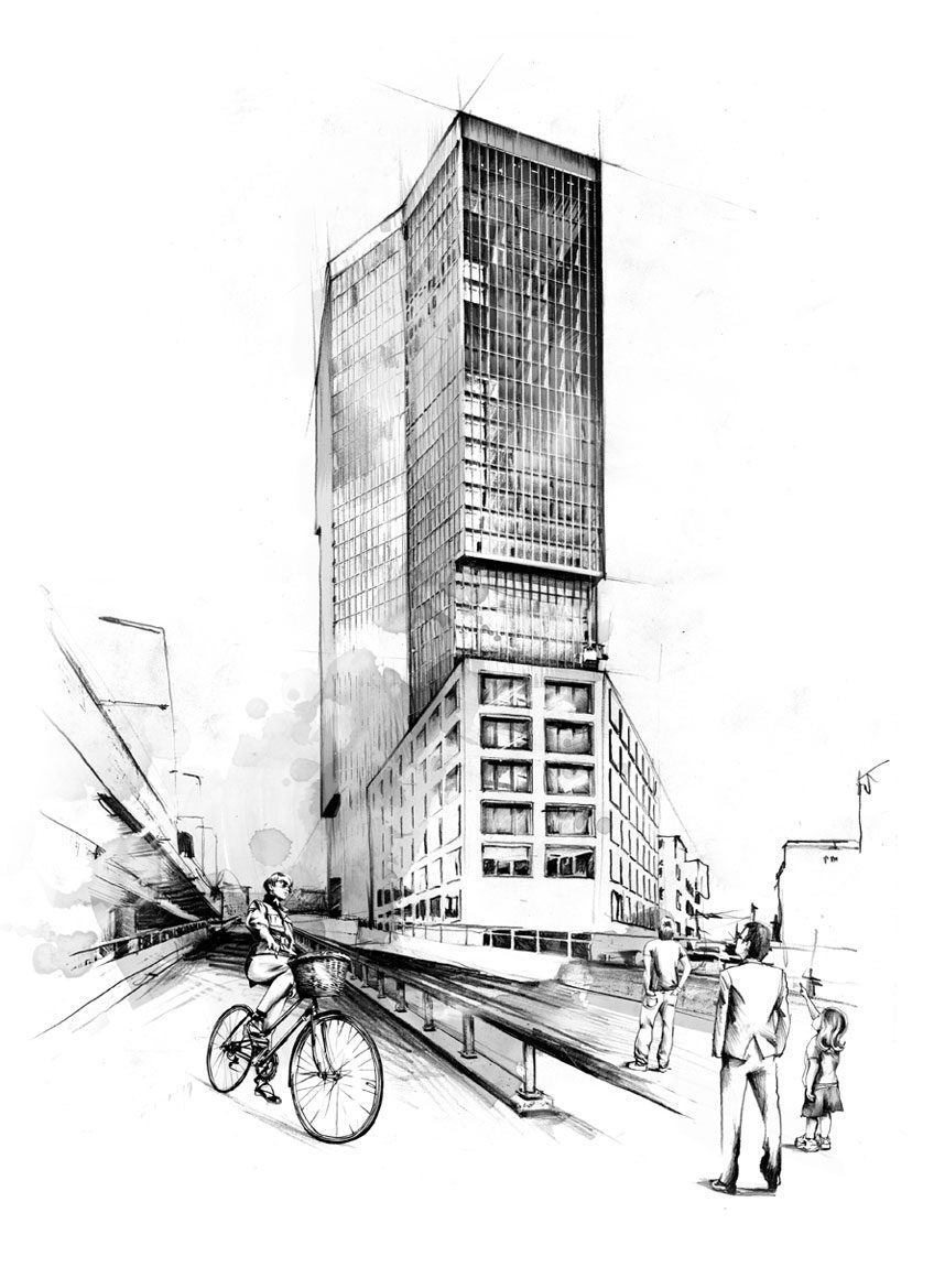Prime Tower - Kornel Illustration | Kornel Stadler portfolio