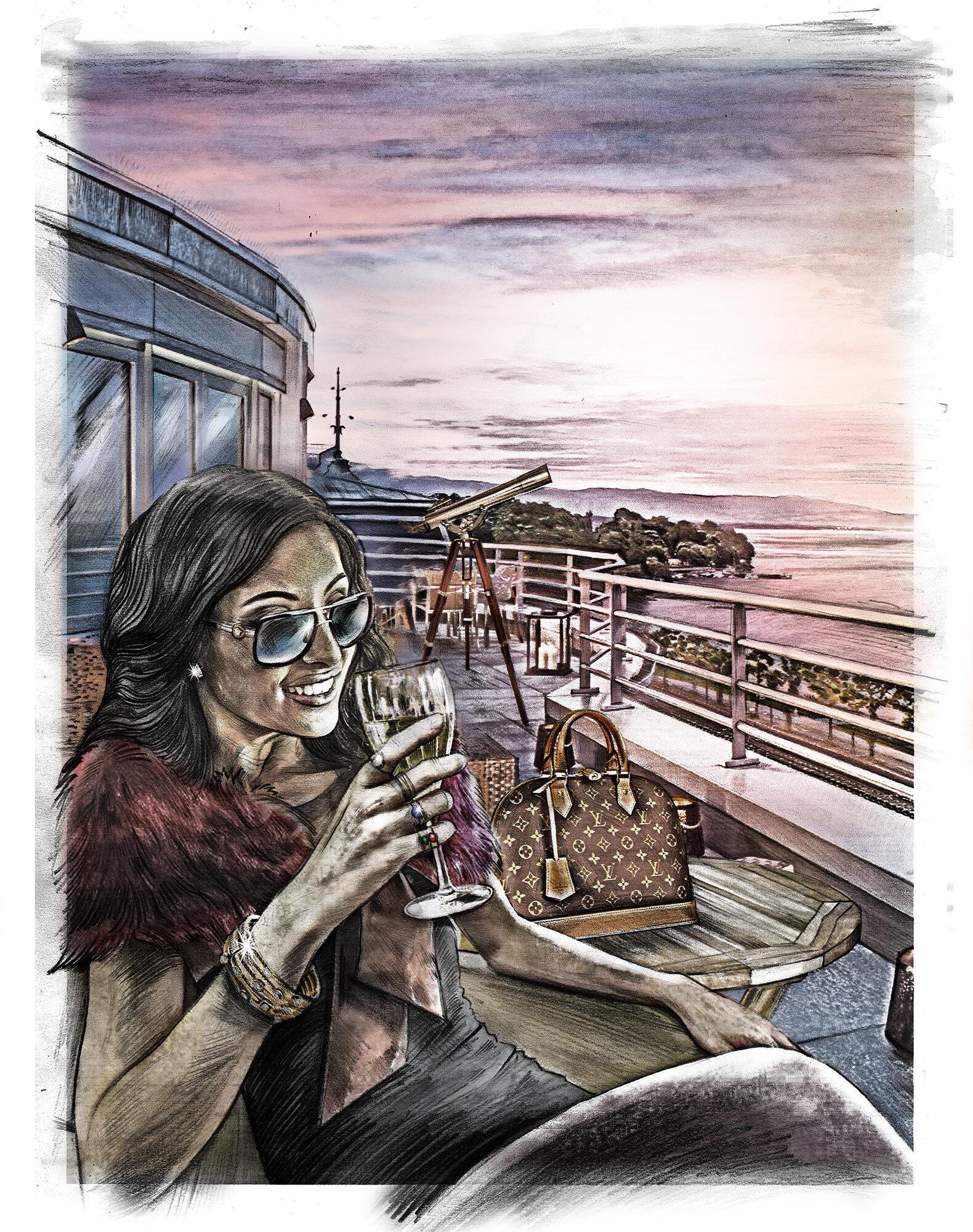 Princess illustration Geneva - Kornel Illustration | Kornel Stadler portfolio