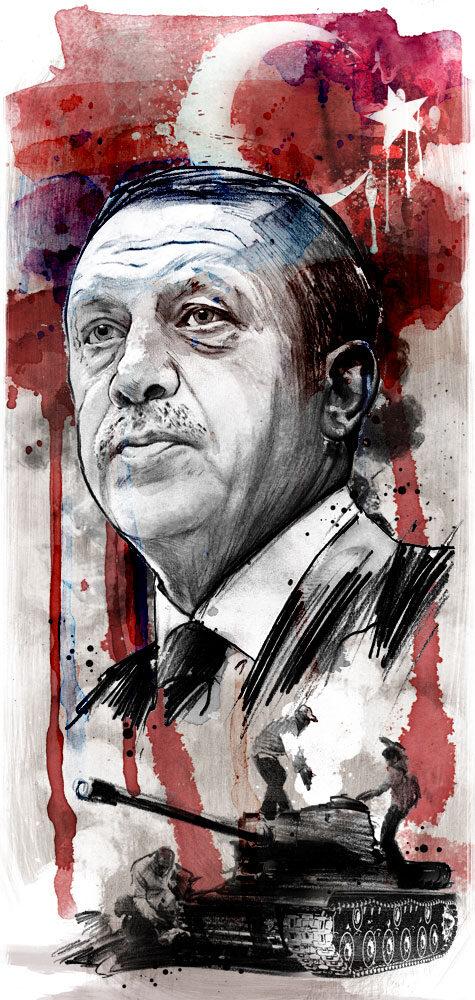 Erdogan1 - Kornel Illustration | Kornel Stadler portfolio