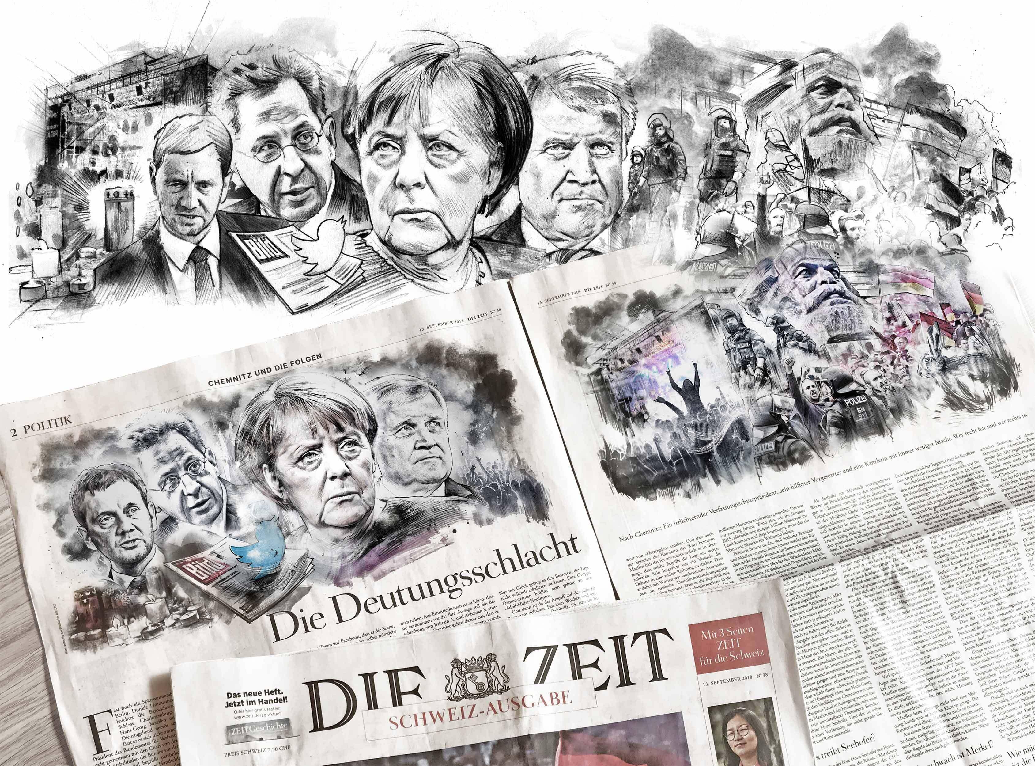 Die Zeit editorial illustration chemnitz - Kornel Illustration   Kornel Stadler portfolio