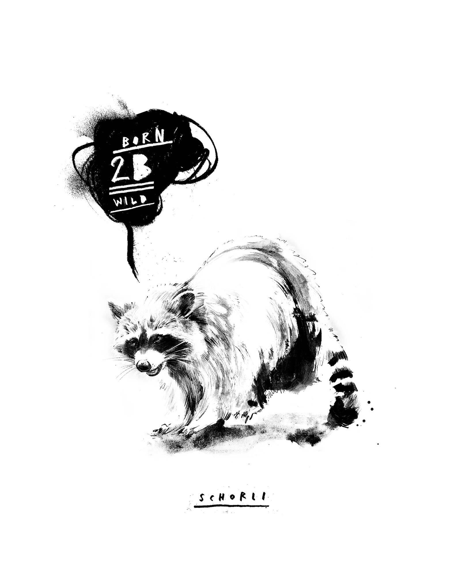 Born 2b wild artwork - Kornel Illustration | Kornel Stadler portfolio