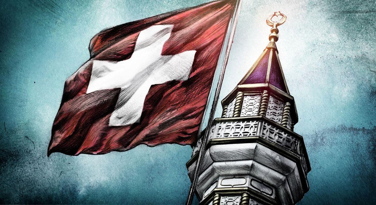 Muslime Schweiz1 - Kornel Illustration | Kornel Stadler portfolio