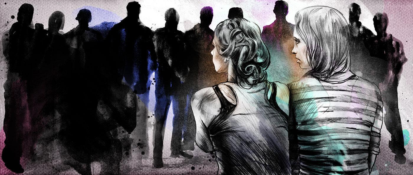 Sexuelle Gewalt - Kornel Illustration | Kornel Stadler portfolio