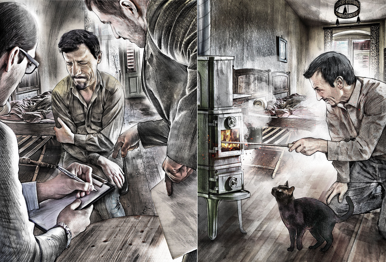 Story Illustration - Kornel Illustration | Kornel Stadler portfolio