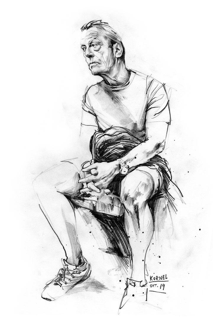 Oktober skizze - Kornel Illustration | Kornel Stadler portfolio