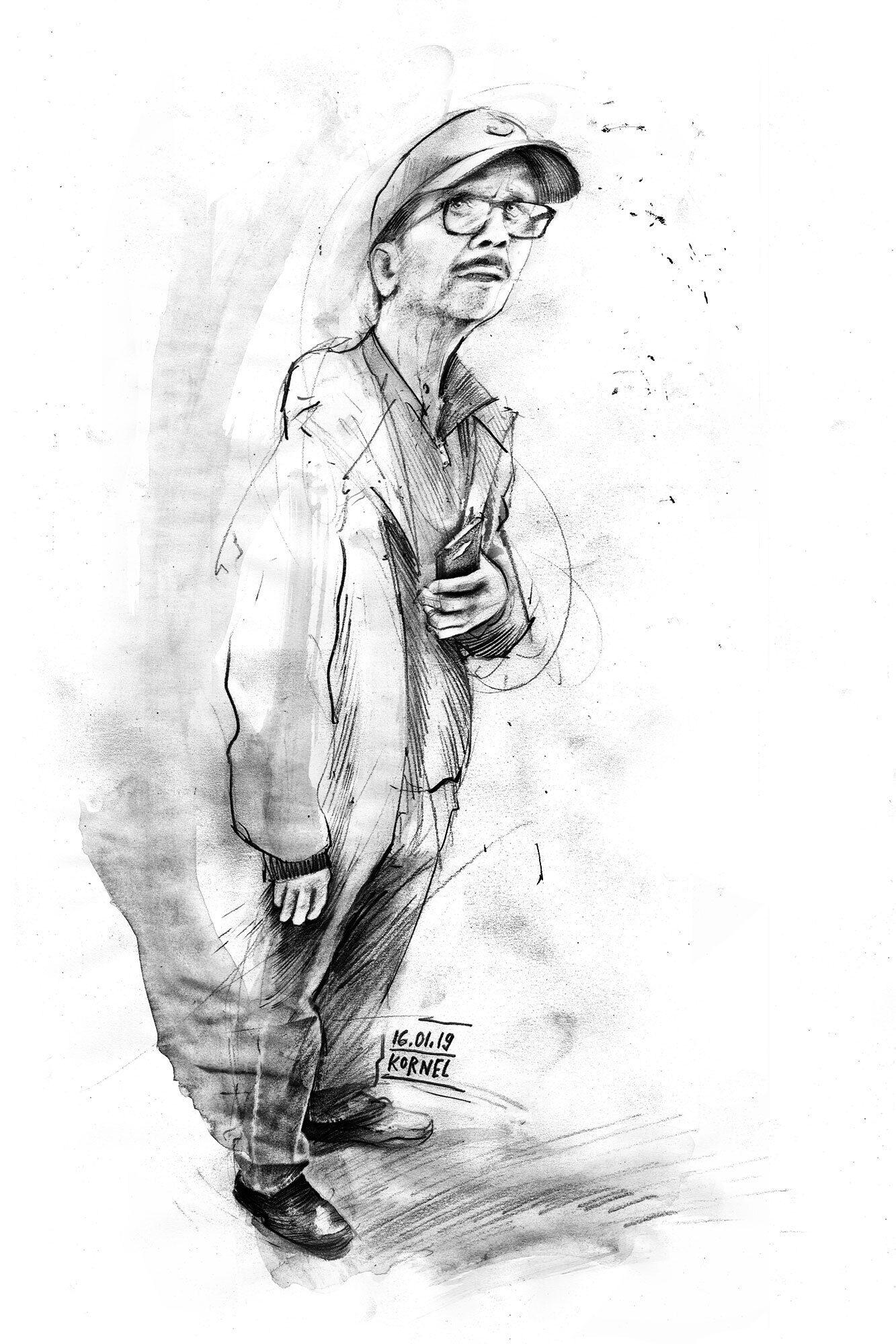 Drawing sketch pencil - Kornel Illustration | Kornel Stadler portfolio
