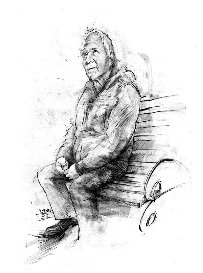 Skizze J - Kornel Illustration | Kornel Stadler portfolio