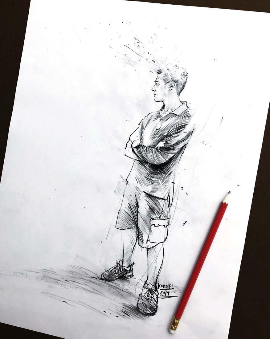 Skizze 2 - Kornel Illustration | Kornel Stadler portfolio