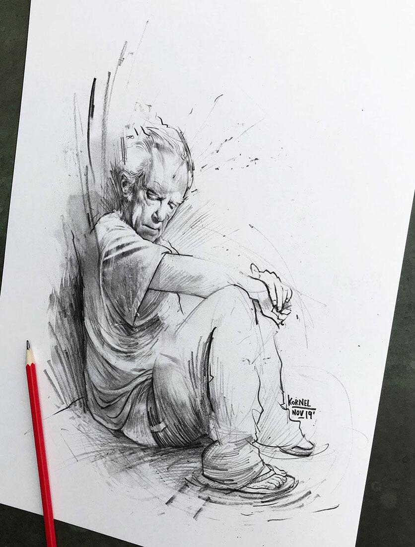 Skizze - Kornel Illustration | Kornel Stadler portfolio