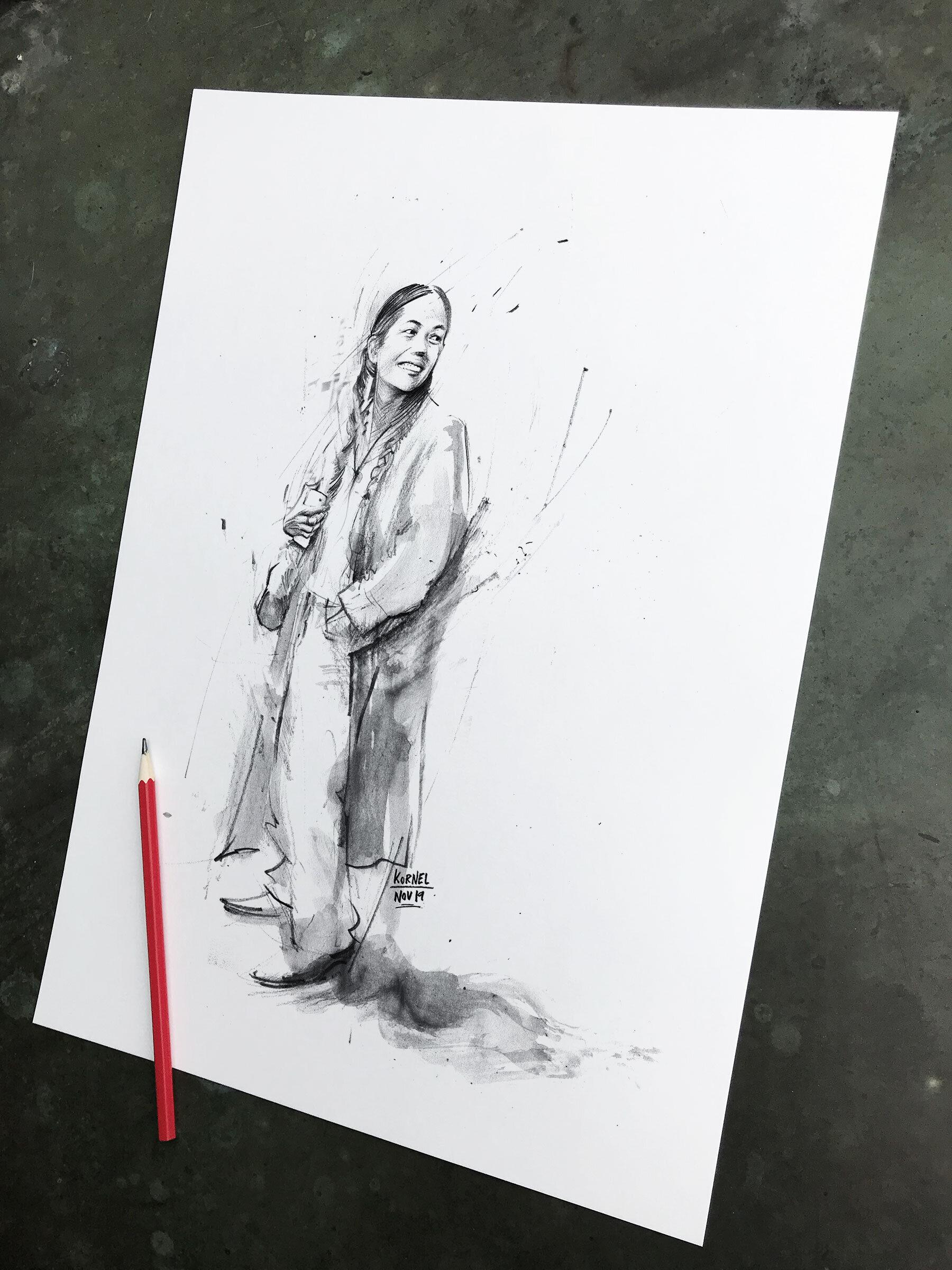 Street sketch - Kornel Illustration | Kornel Stadler portfolio