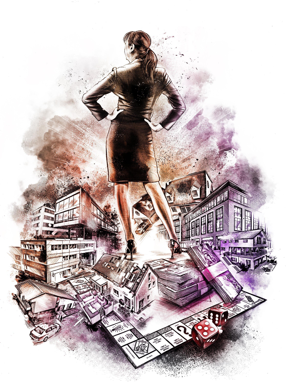 Millionaer illu - Kornel Illustration | Kornel Stadler portfolio