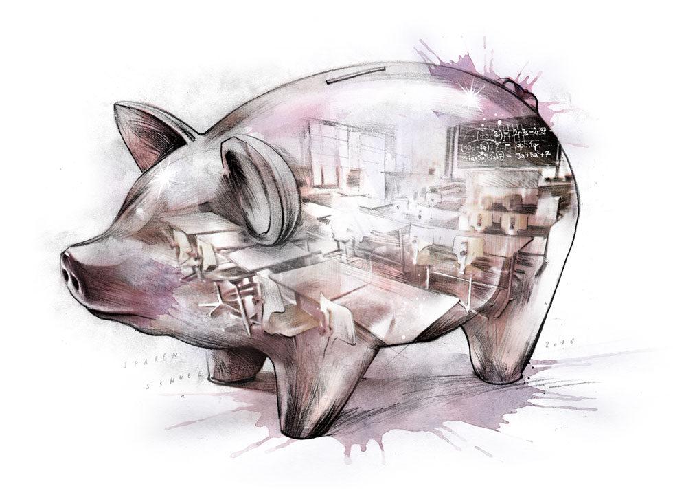 Sparschwein - Kornel Illustration | Kornel Stadler portfolio