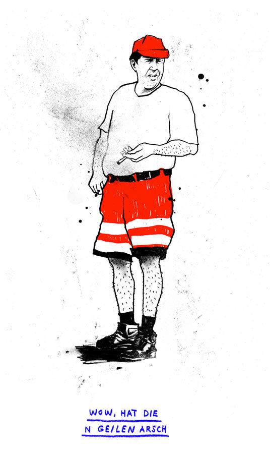 Heisser Feger - Kornel Illustration | Kornel Stadler portfolio