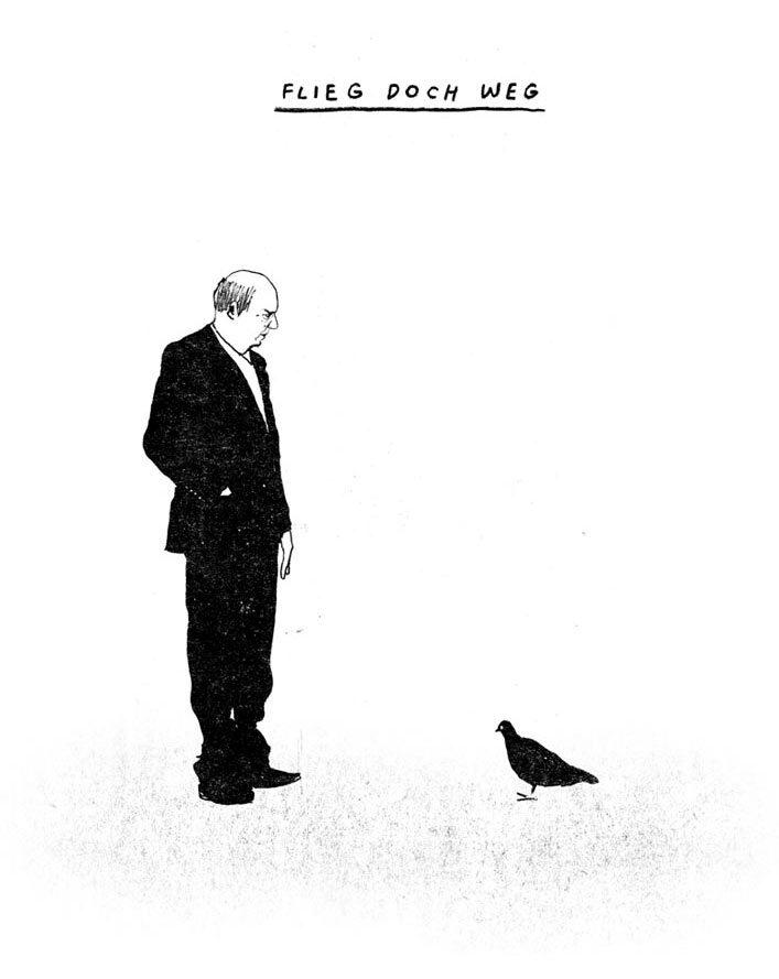 Flieg doch weg1 - Kornel Illustration | Kornel Stadler portfolio