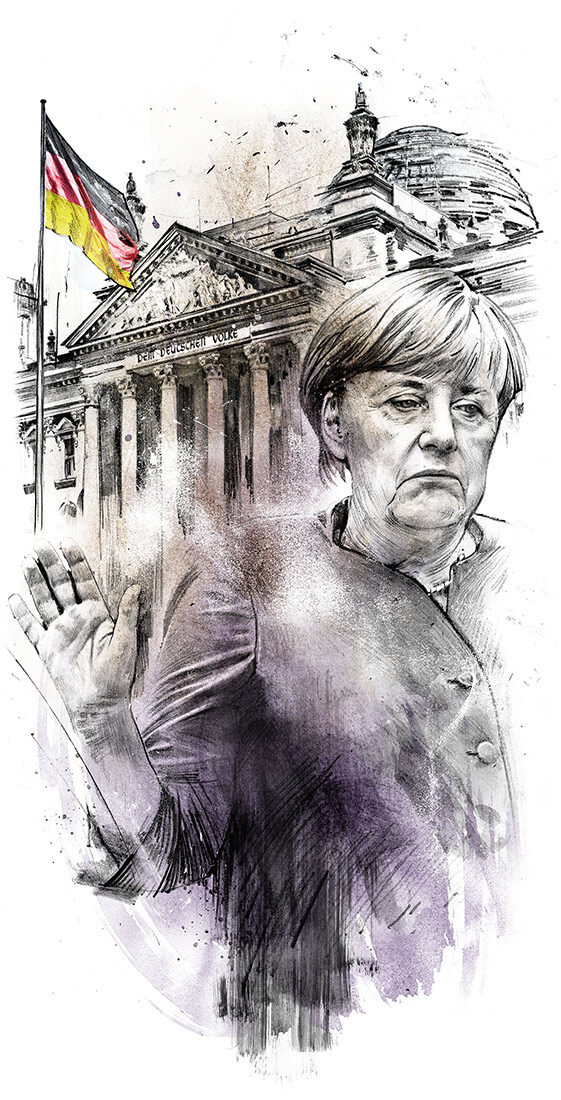 Merkel - Kornel Illustration | Kornel Stadler portfolio