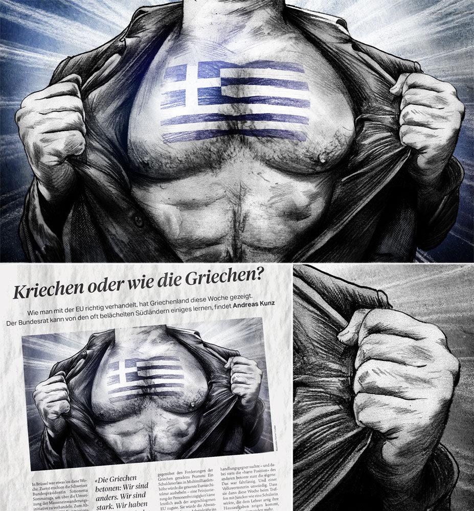Griechenland - Kornel Illustration   Kornel Stadler portfolio