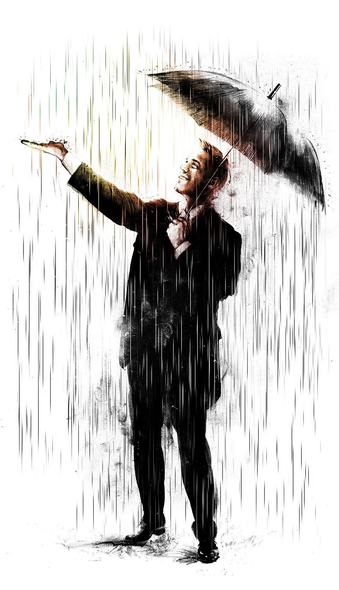 Optimist illustration - Kornel Illustration | Kornel Stadler portfolio