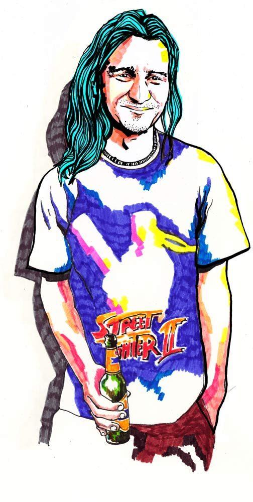 Street Fighter 2 - Kornel Illustration | Kornel Stadler portfolio