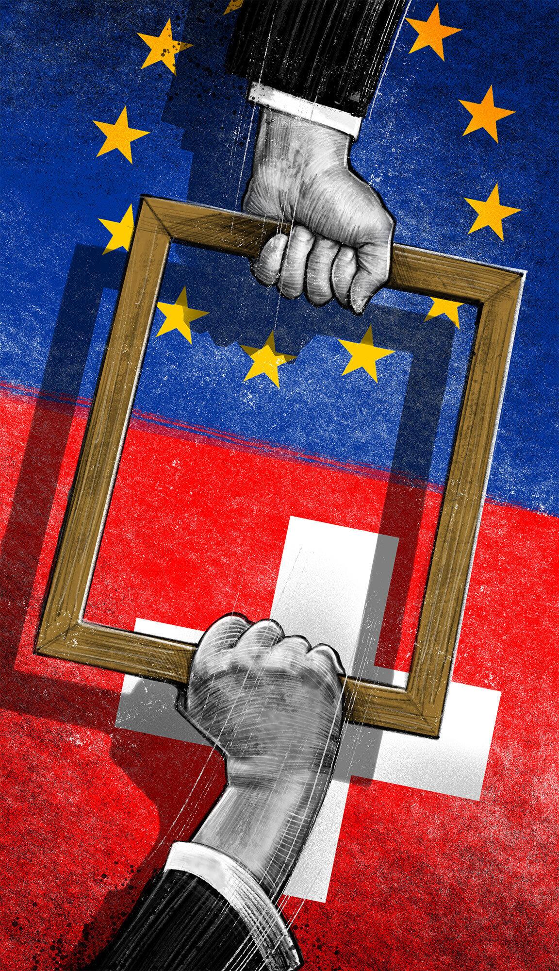 Rahmenabkommen - Kornel Illustration | Kornel Stadler portfolio