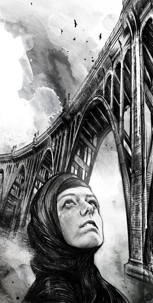 Suizid - Kornel Illustration | Kornel Stadler portfolio