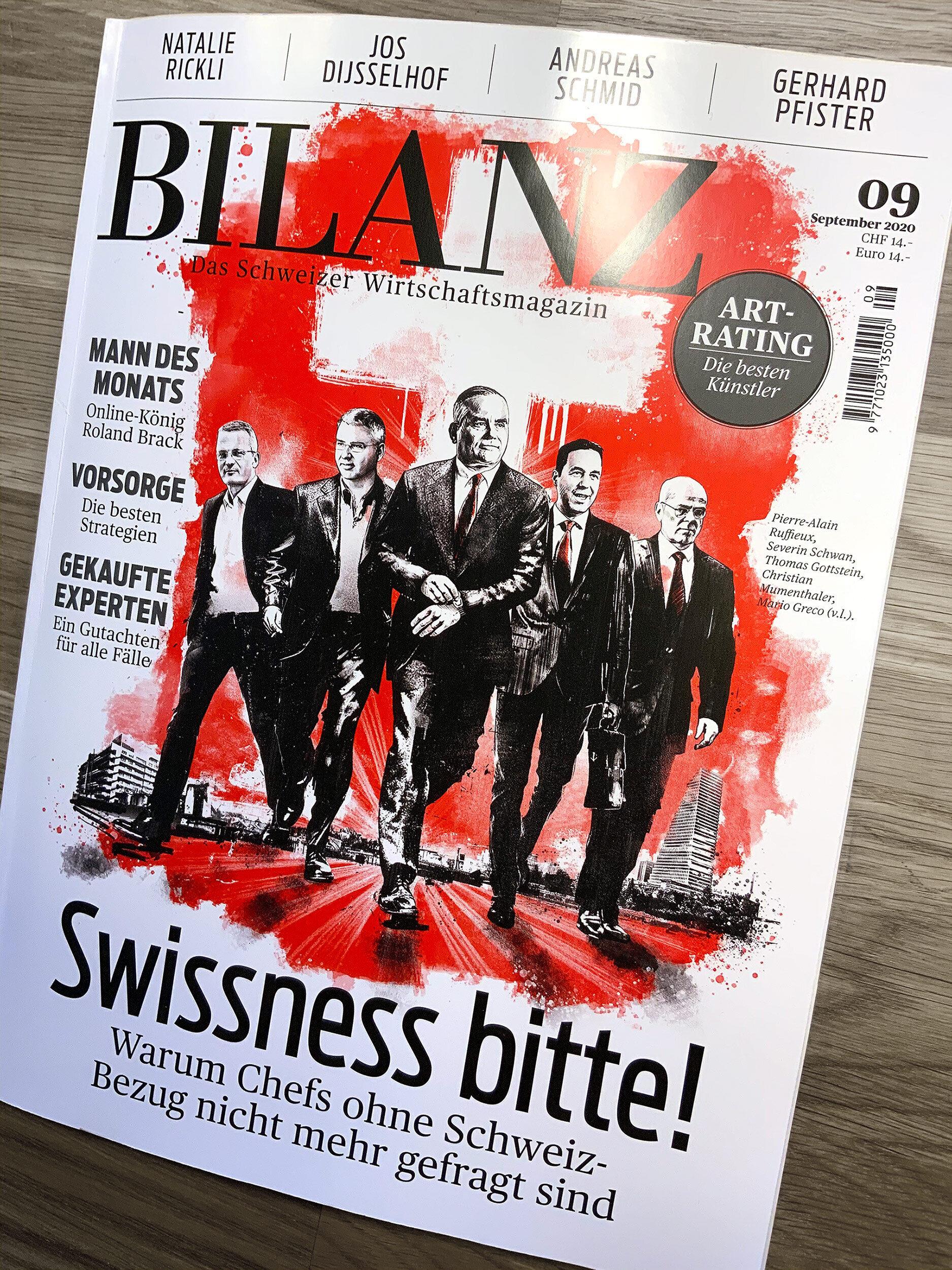 Bilanz Cover - Kornel Illustration | Kornel Stadler portfolio