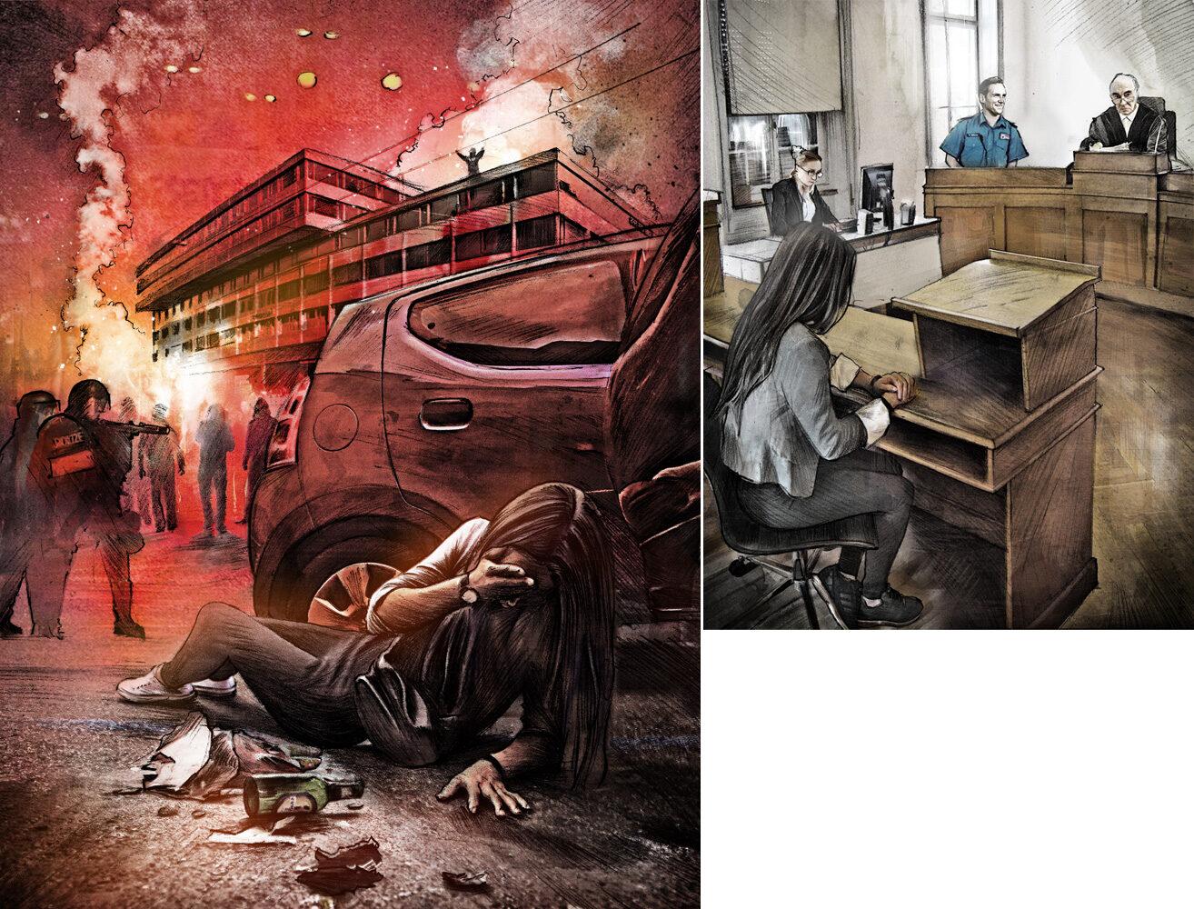 Tanz dich frei - Kornel Illustration | Kornel Stadler portfolio